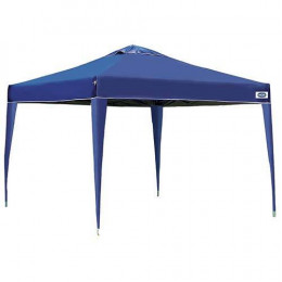 Barraca Tenda Gazebo X-Flex Oxford com Silvercoating Azul para Camping Praia Eventos e Festas 3x3 Mts